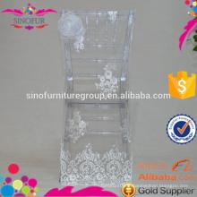 Housses de chiavari chaises de mariage à bas prix pour mariages chaises en plastique