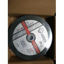 Inox und Schneiden von Metall-Rad