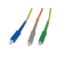Certificación Ce / UL Sc a Sc Puente de fibra óptica monomodo