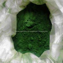 Pigmento verde de óxido de cromo resistente a altas temperaturas
