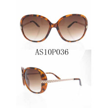Best Designer Female Acrylic Fashion Sun Eyewear Glasses with Ce Approved As10p036