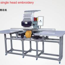 Elucky grande área de trabalho do computador do agregado familiar máquina de bordar única cabeça com alta velocidade 1.200SPM