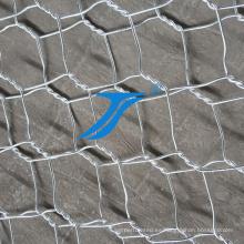 Malla de alambre hexagonal para valla temporal