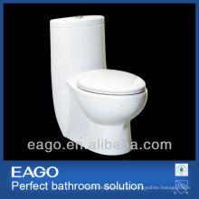EAGO lavabo sifónico de cerámica de una sola pieza TB309-1