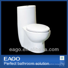 EAGO ceramic one piece siphonic flushing toilet TB309-1