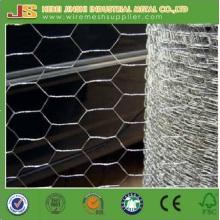 Malla de alambre hexagonal galvanizado de alta calidad