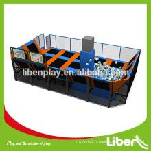Meilleur prix promotionnel professionnel grand trampoline intérieur pour enfants et adultes