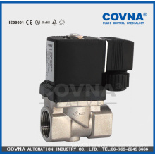 "Stainless steel water pilot operated diaphragm 1/2"" solenoid valve"