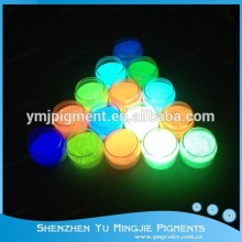 Fluorescent Pigment, Glow in the Dark Paint Powder Coating, Glowing Pigments