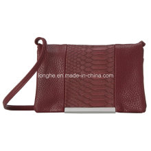 Croc-Embossed Fashion Ladies Shoulder Bag (ZXS0124)