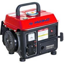 HH950-L02 CE Gerador portátil pequeno, gerador de gasolina (500W, 650W, 750W)