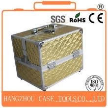alu Useful Cosmetic Case With Mirror, Makeup Case, Aluminum Case tool box