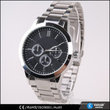 Große Zifferblatt-Mannuhr heiße Verkaufsuhr, Japan movt.quartz Uhrpreis
