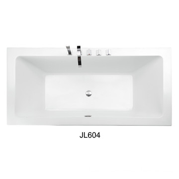 High Quality Cheap Price Acrylic Built-in Bath Tub (JL604)