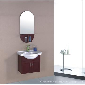 Mobília do armário de banheiro do PVC de 60cm (B-323)