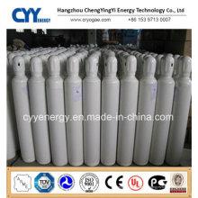 Nitrogène Oxygène Lar CNG Acétylène CO2 Hydrogeen Nitrogène Lar CNG Acétylène Hydrogène 150bar / 200bar Cylindre à gaz sans soudure à haute pression