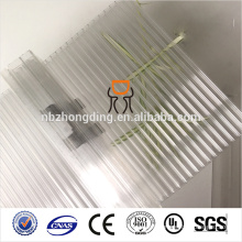 100% VIRGIN Bayer PC U-LOCK system polycarbonate hollow sheet