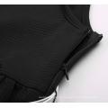 Grace Karin Children Kids Girls Sleeveless Round Neck A-Line Black Skater Dress CL010482-1
