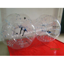 Custom Made Durable Colorful Pvc 1.2m Pvc Inflatable Bumper Ball For Kids