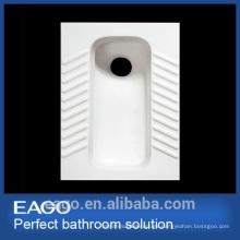 EAGO ceramic promocional detrás de la bandeja de la manera Squat pan sin codo DB2270-F