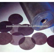 Good Quality Black Wire cloth by Puersen