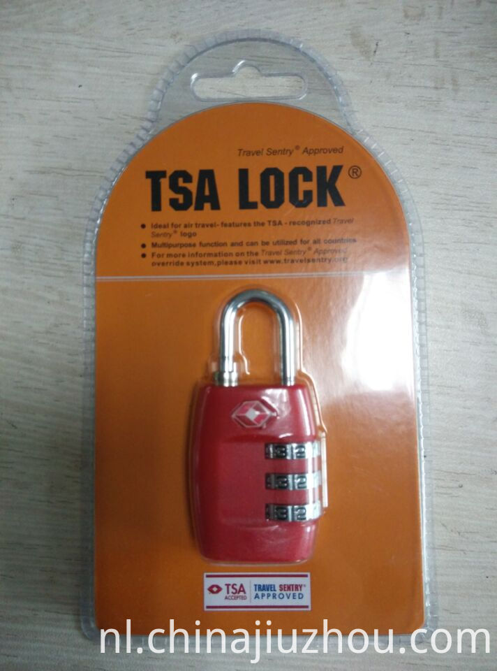 Red Color TSA Lock