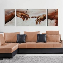 Canvas Art Modern People Oil Painting
