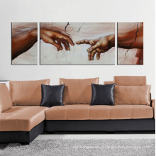 Холст Art Аннотация Люди масляной живописи