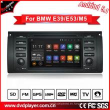 Car Audio Navegación GPS para BMW 5 / M5 con conexión telefónica Sistema Android