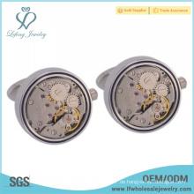 Neuer Art umweltfreundlicher kupferner kundenspezifischer Uhrbewegungsmanschettenknopf