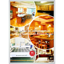 Syngood Woodworking CNC Router SG1325-1300 * 2500mm-especial para a cozinha de construção