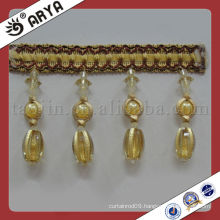 Wholesale Decorative beads curtain l Fringe Used for Curtain Accessories,Match Drapery Fabric