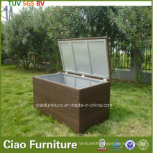Synthetic Rattan Furniture Durable Outdoor Wicker Cushion Box