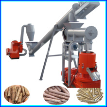 CE Flat Die Small Wood Pellet Machine Line