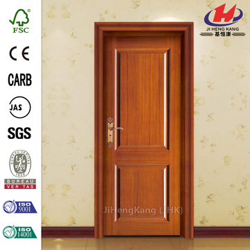 JHK-017 Qingzhou Mini Home Steel Wood Finish Interior Door