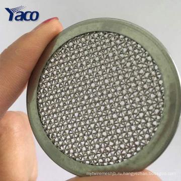 Высокое качество 2-дюймовый круг диаметром 304 Фильтр из нержавеющей стали экраны