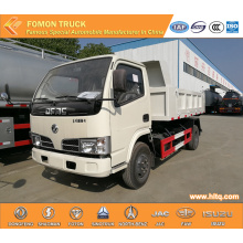 Dongfeng 4-5tons LHD dump truck light dump lorry
