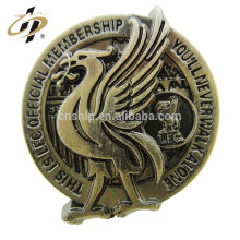 Best selling items new products 3D antique eagle metal military badge pin