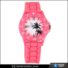gift watch for girls, silicone quartz wrist watch