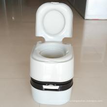 Пластиковый портативный туалет Открытый мобильный туалет