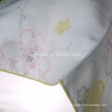 printed plain gauze hankerchief