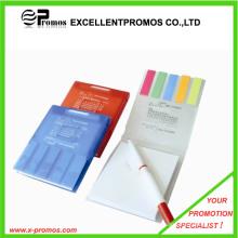 Notas publicitarias coloridas promocionales del poste de la nota con la cubierta de los PP (EP-N2251)