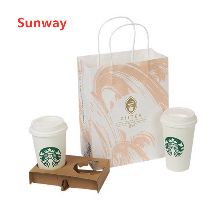 Take Away Coffee Carry Bags