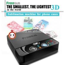 Máquina de transferencia de prensa de calor de vacío 3D mini