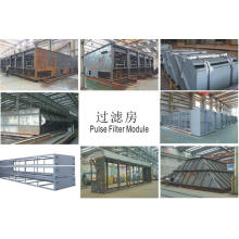Steel Structure Filter House for Power Plant Equipment