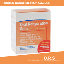 Sal de Rehidratación Oral de Alta Calidad y Venta Caliente