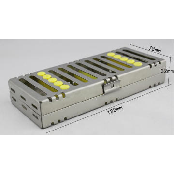 Dental Instrument Cassette - 5 Instrument Tray