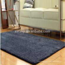 Chambre à coucher rectangle décorant le tapis de moquette shaggy de polyester
