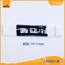 Hochwertiges Kleidungsstück gewebt Etikett LW20013