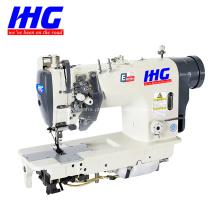 Máquina de costura de alta velocidade com 2 agulhas com barra de agulha dividida